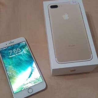 Iphone 7 Plus 32 GB Gold ( reserved )
