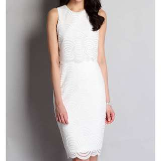Lilypirates Ariel Dreams Dress In Clamshell White