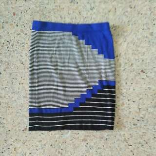 BUY 2 GET 1 FREE Promod Patterned Stretchy Pencil Skirt