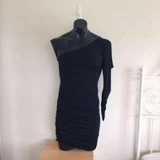 Black Bodycon Club Dress