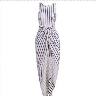 Stripe two length dress.