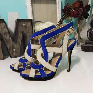 Brand New BCBG suede Stiletto Heels