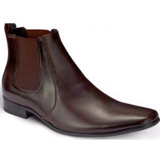 SD Man Robert Leather Boot