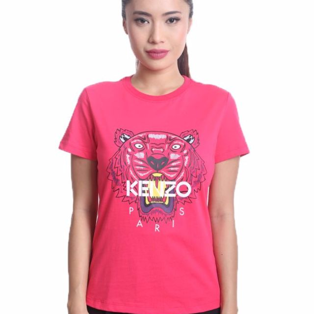 4e351d456 💯Authentic 🎁Brand New🎁 KENZO Ladies' Limited Edition T-Shirt - Pink,  Women's Fashion, Clothes, Tops on Carousell