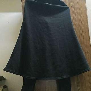 超保暖內搭褲裙