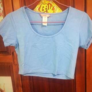 澳洲SUPRÉ藍色短版上衣