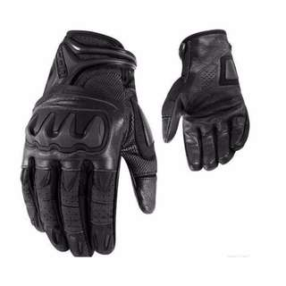 ICON Overlord Resistance Leather Riding Gloves