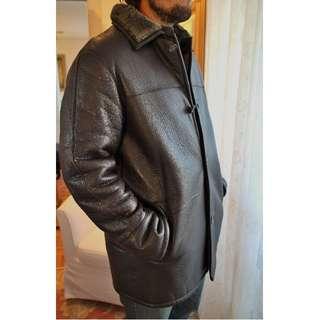 Men's Danier Insulated Winter Leather Jacket Sz Medium