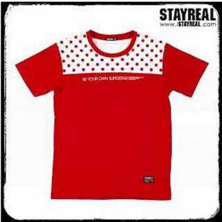 絕版STAYREAL Fashion Polka Dot 時尚一點點 M號