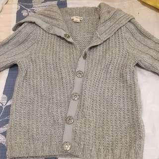 DKNY短冷外套(灰色)