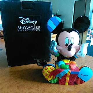 Disney Britto Mickey Figurine