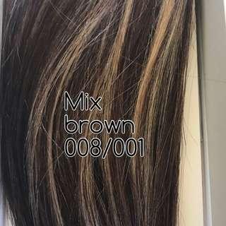"Hair Extensions 100% Human Hair 18"" Length"