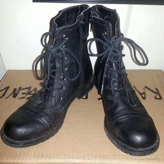 Military Look Boots