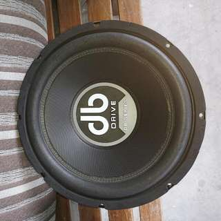 DB Series 12 Inch Subwoofer DB12D4