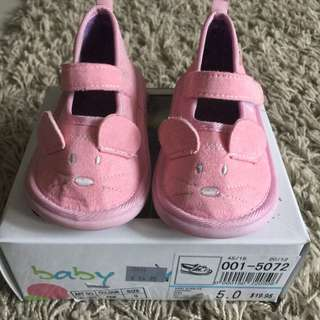 Mouse Pink Girls Shoes