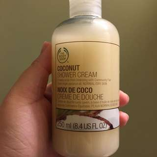 Body Shop Coconut Shower Cream