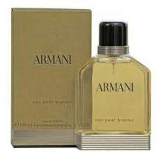 Giorgio Gio Armani Eau Pour Homme 100ml Edt Spray Tester Pack