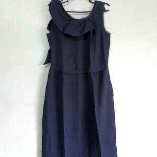 Simply Vera Wang Dark Blue Dress