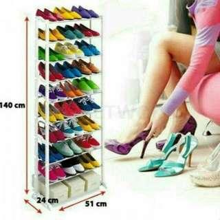 Amazing Shoes Rack 10 Tingkat / Rak Sepatu Sandal