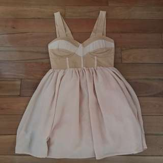 Beige Dress 🌸