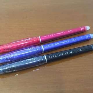 Pilot FriXion Erasable Pen