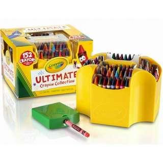 BNIB: Crayola Ultimate Crayon Case, 152-Crayons