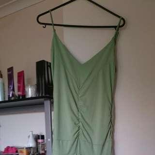 Green Semi Formal Dress Size 8