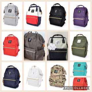 Authentic Anello bag backpack small, in stock. Direct from Japan!