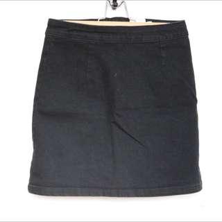 ASOS Petite A-line Denim Skirt