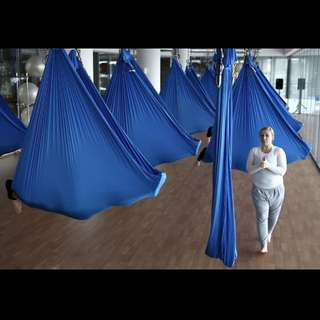 High Strength Inversion Anti-Gravity Flying Yoga Swing Aerial Hammock Fitness