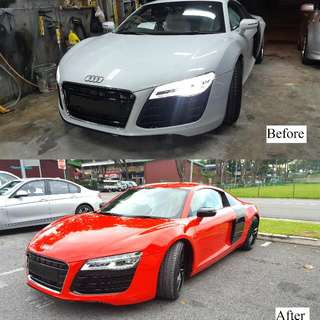 Spray Painting Services (All Car Range)