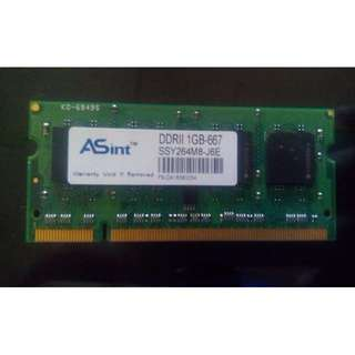 RAM LAPTOP SODIMM DDR2 1GB