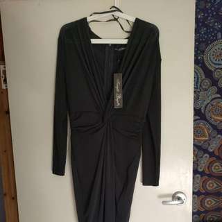 Black Dress Size 12 New With Tags