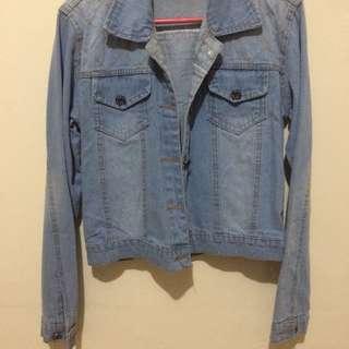 Denim Jacket (never been used)