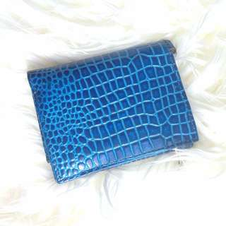 Blue small coin purse/wallet