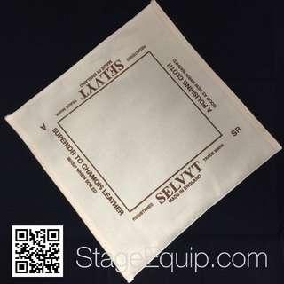 "Selvyt ""SR"" Traditional (Beige) Polishing Cloth 25cm x 25cm"