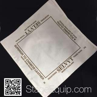 SELVYT 'PR' PREMIUM (WHITE) Polishing Cloth 35cm x 35cm