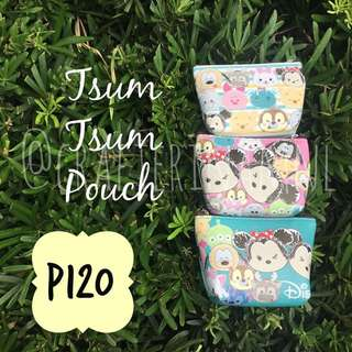 Tsum Tsum Pouches