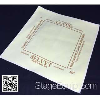 Selvyt 'MF' for Spectacles, Laptops & TV Screens (Yellow) Polishing Cloth 25cm x 25cm