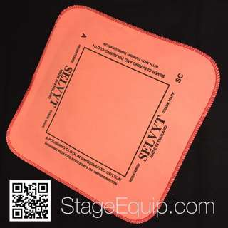 Selvyt 'SC' for Silver (Pink) Polishing Cloth 25cm x 25cm