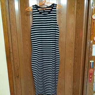 Cotton On Sleeveless Stripe Dress