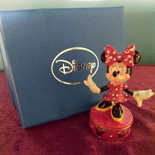 Trinket Box Minnie Mouse
