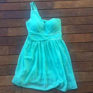 Turquoise Formal/cocktail Dress