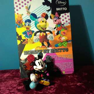Britto Mickey Mouse Figurine