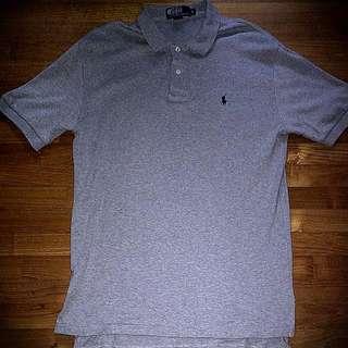 Ralph Lauren Polo Tee Grey American Size S