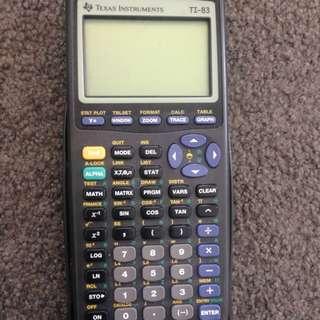 Texas Instruments TI 83 Graphic Calculator