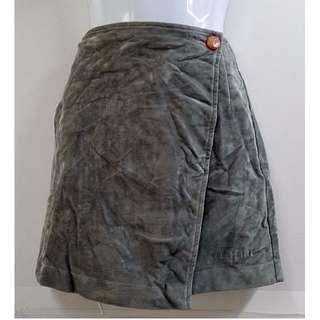 ELLE PETITE歐風流行時尚絨布平織一片裙氣質滿分百搭單品專櫃名牌優質童裝【全新含吊牌原價1530元女童一片裙】