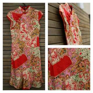 Vintage inspired Oriental dress