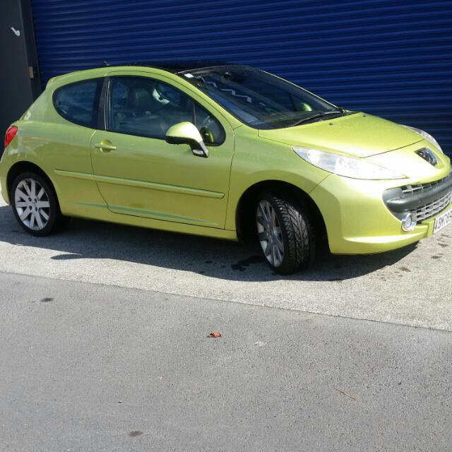 2007 Peugeot 207 TURBO 5spd Manual
