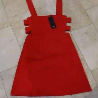 Forever 21 Red Party Dress